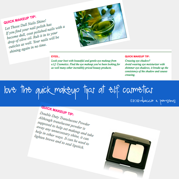 elf cosmetics makeup tips