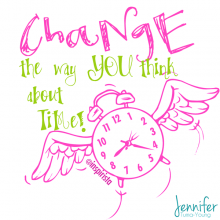 Change Time #BalanceBook quote