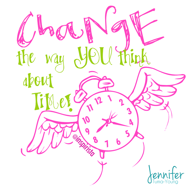 Post image for Change the Way You Think About Time from @Inspirista's #BalanceBook