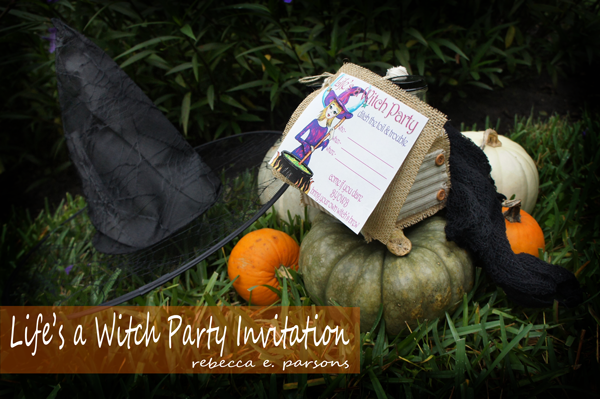 Life's a Witch Party Consumer Crafts art supplies