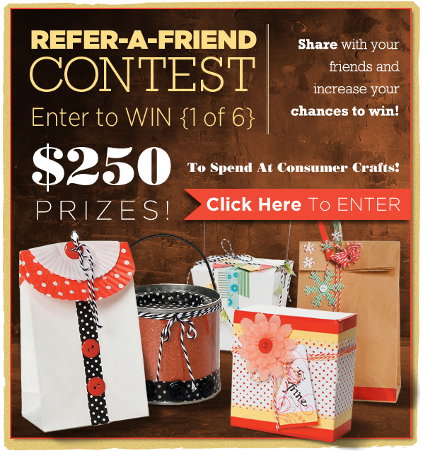 Consumer Crafts contest