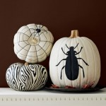 Country Living painted pumpkins