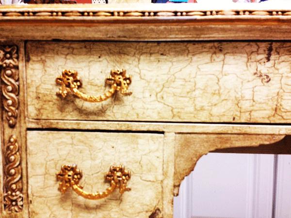 drawer detail - Annie Sloan Chalk Paint, Wax & Gilding Creme
