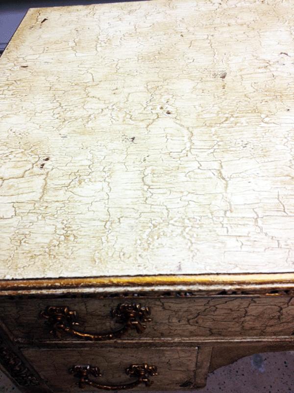 Desktop crackle Annie Sloan Chalk Paint