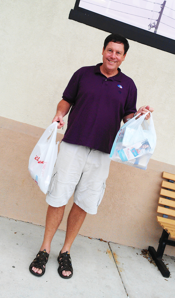 HIMself-with-Walgreens-packages #BalanceRewards