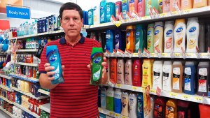 HIMself with Dial Soaps at Walmart