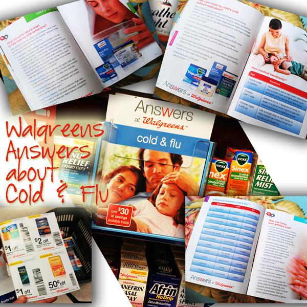 Wallgreens Cold and Flue Book #BalanceRewards