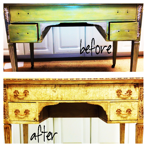before-and-after-vintage-writing-desk