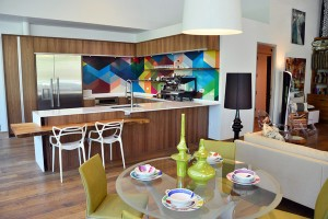 DIY Series: I Want to Cook in this…Colorful Hip #Kitchen!