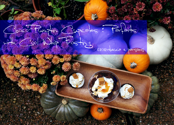 Cool whip Desserts Pumpkins Rebecca E. Parsons photography