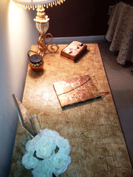 Desk in place - Annie Sloan Chalk Paint, Wax & Gilding Creme