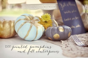 My 12 Best Painted Pumpkins for 2012