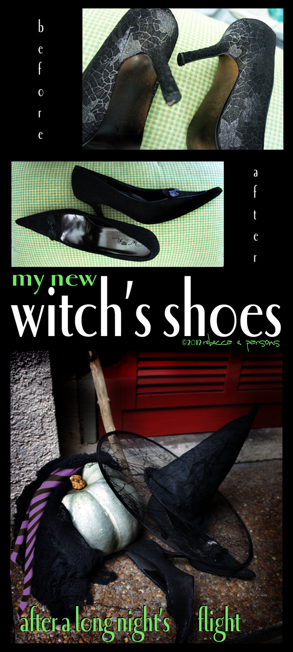 my new witch's shoes