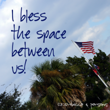Bless the Space Between Us photography by Rebecca E. Parsons