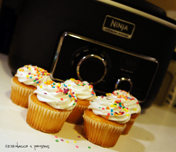 Baking cupcakes in the Ninja Cooking System