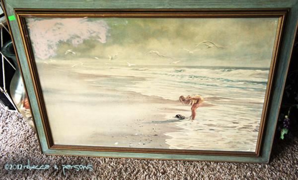 My $4 Goodwill frame DIY Thanksgiving Chalk Board Tutorial