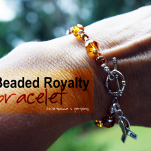 My Beaded Royalty bracelet