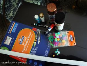 supplies #GluenGlitter DIY Thanksgiving Chalk Board Tutorial