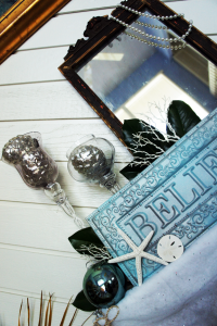 Christmas Make BELIEVE Mantle 2012 ~ A Visionary Christmas Tale