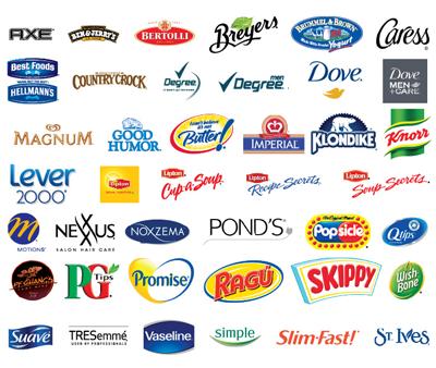 Unilever brands I buy