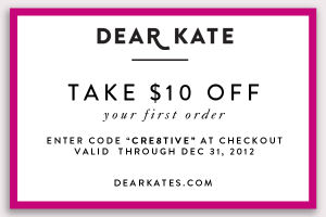 This Outdoor Girl Loves Her Dear Kate Undies {Coupon}