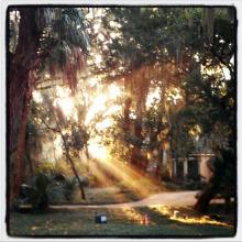 Sunday Sunrise on Amelia Island photography by Rebecca E. Parsons