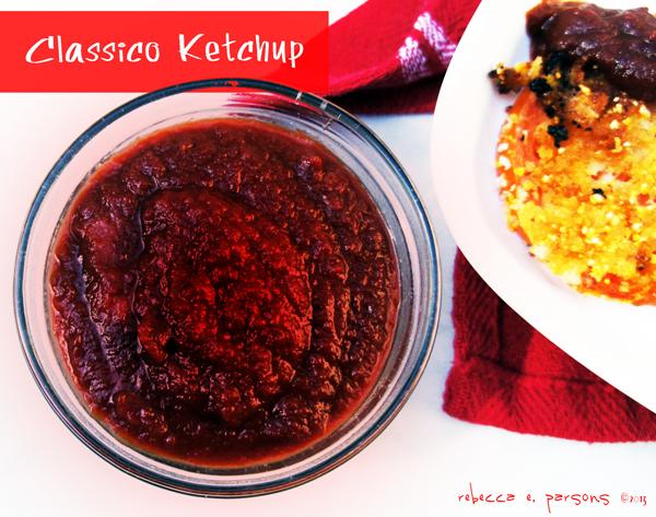 Classico ketchup #CookClassico