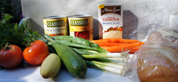 Classico Healthy Lunch ingredients #CookClassico