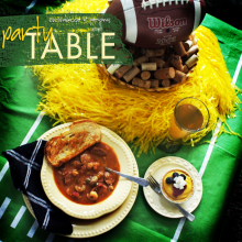 Puppy Bowl Party Table Silk® Soy Milk #rethinkwhatyoudrink