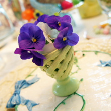 Easter Breakfast Tablescape ~ Table Decor with Easter Candy
