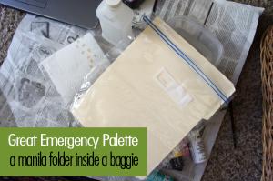 Emergency palette #FAEnamels