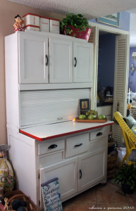 Ghosts of Furniture Past Update – DIY Hoosier Cabinet Restoration