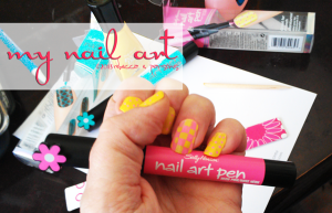My Sally Hansen DIY Runway Nails #ILuvNailArt