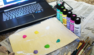 Paint on Palette #FAEnamels
