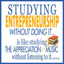 seth godin entrepreneurship quote