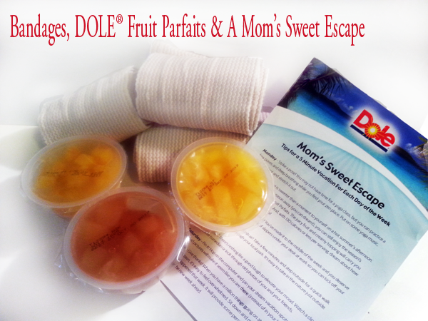 Bandages and DOLE Fruit Parfaits