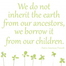 Earth Month/Day Printable