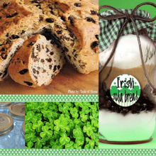 Irish Soda Bread Gift of Food Mason Jar