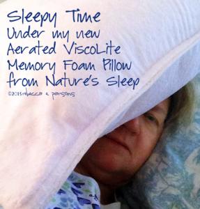 Aerated ViscoLite Memory Foam Pillow from Nature's Sleep #NSAmbassador #spon