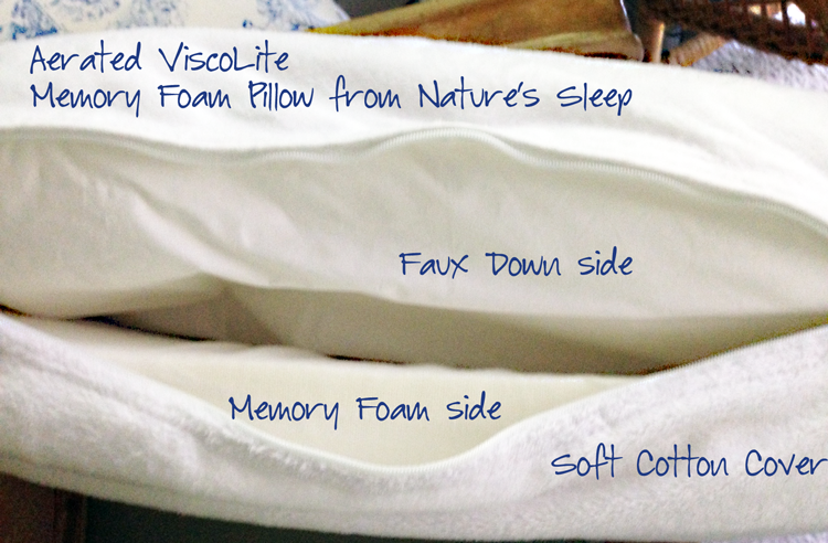 Aerated Viscolite Memory Foam Pillow From Nature S Sleep