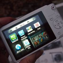 Wi-Fi capable Samsung WB200 camera #SocialCamera