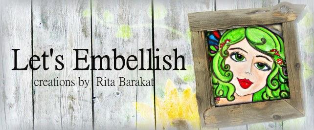 Let's Embellish blog banner
