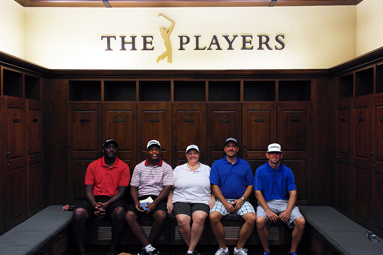Players-lockerroom-TPC-Sawgrass-#PricelessGolf
