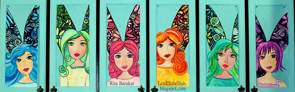 Rita Barakat Creations studio cabinets