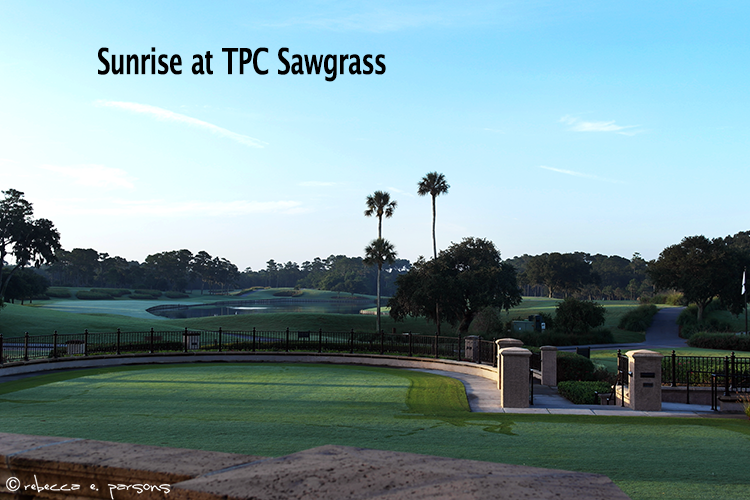Sunrise--TPC-Sawgrass-#PricelessGolf