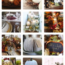 25 Gorgeous Harvest DIY Tablescapes with Tutorials