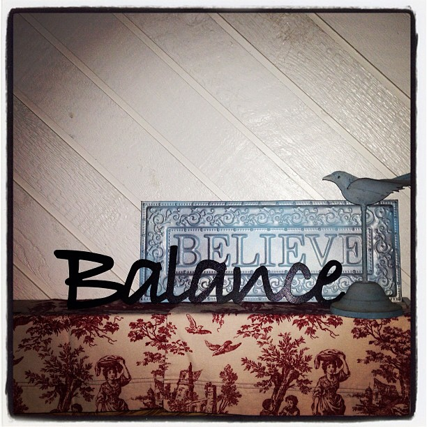 balance believe