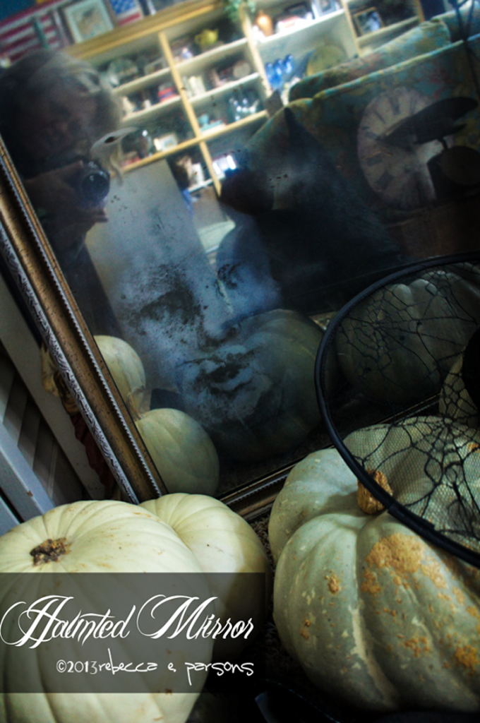 DIY Haunted-Mirror-Krylon-Looking-Glass-Paint