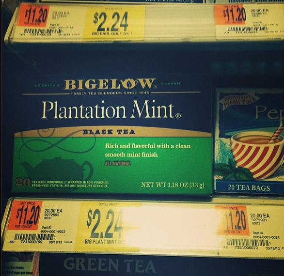 Plantation-Mint-Bigelow-Tea #Americastea #shop