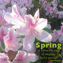 Happy Spring FREE Printable